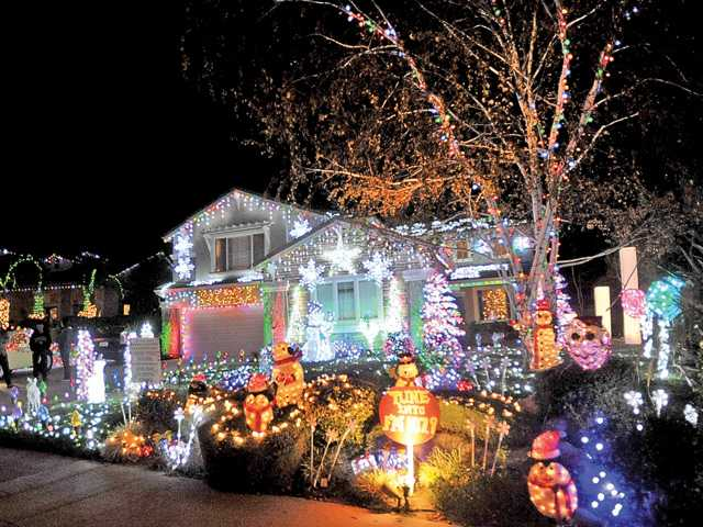 Holiday tradition shines brightly