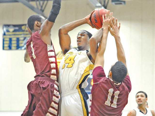 Cougar men lead early, fall in 2nd half of conference opener