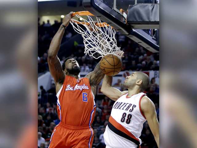 Clippers beat Blazers behind Jordan's double-double