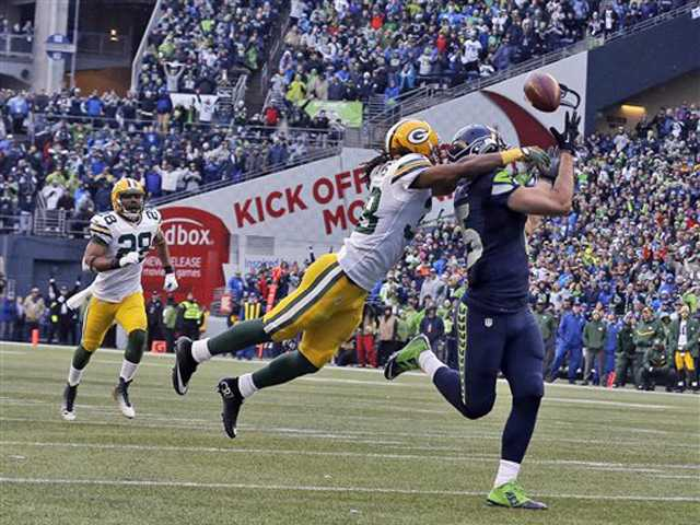 Seahawks rally stuns Packers 28-22 in OT for NFC title