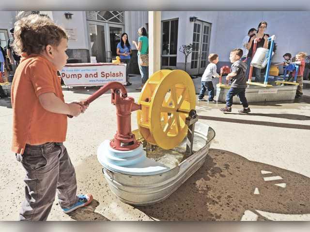Families peruse preschools in the SCV