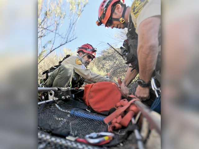 SCV Search and Rescue team trains for life and death situations