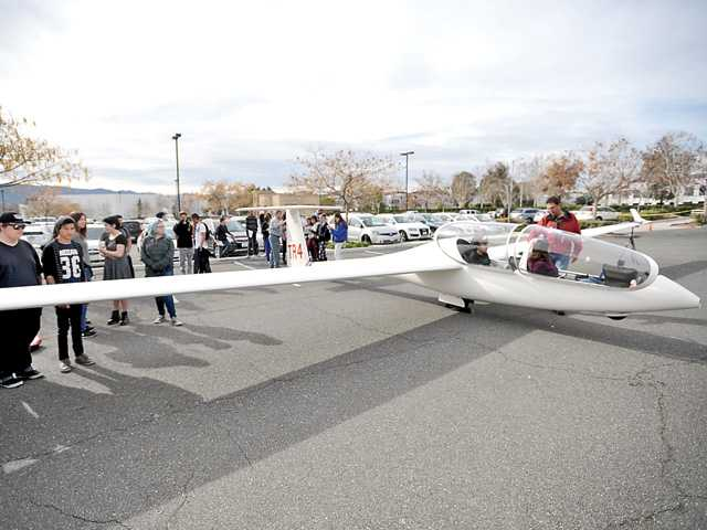 Glider becomes learning tool at SCVi