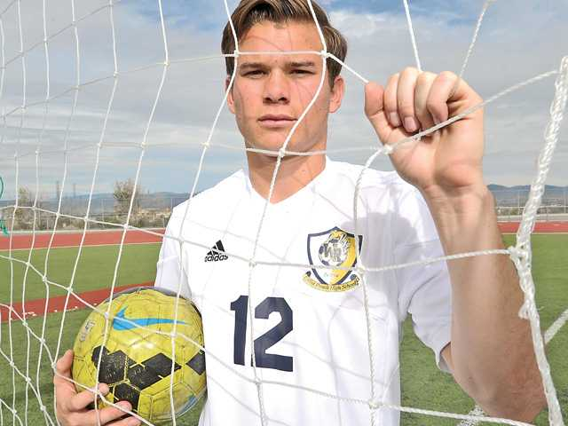 There's a reason for West Ranch's Brendan Moskal's intensity