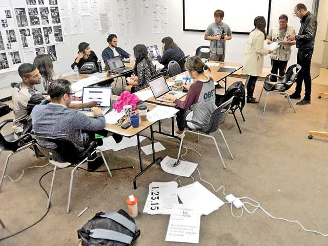 CalArts students examine how people consume news in design project