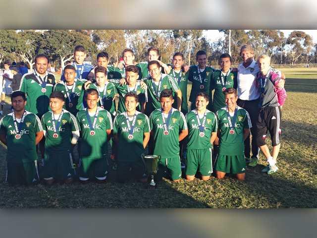 Boys soccer team scores showcase tournament