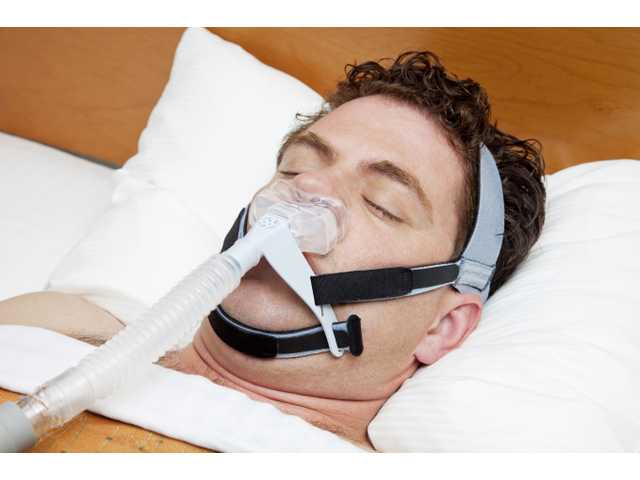 Ridiculous sleep apnea machine alienates wife, brings peace