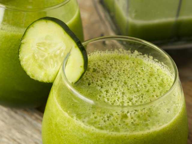 What's up with the green smoothie?