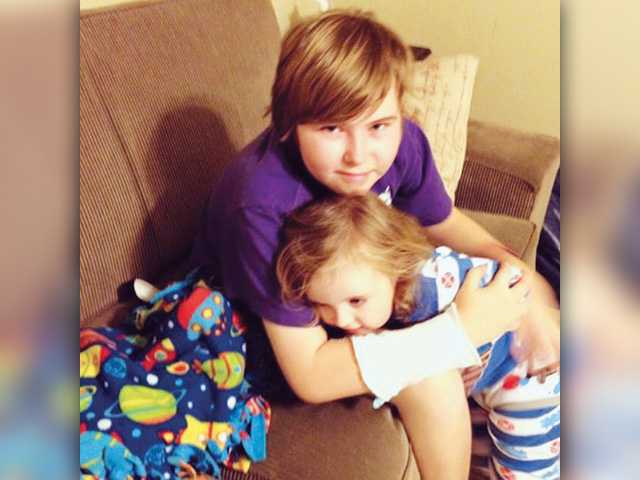 Three kids, two battles  with brain cancer