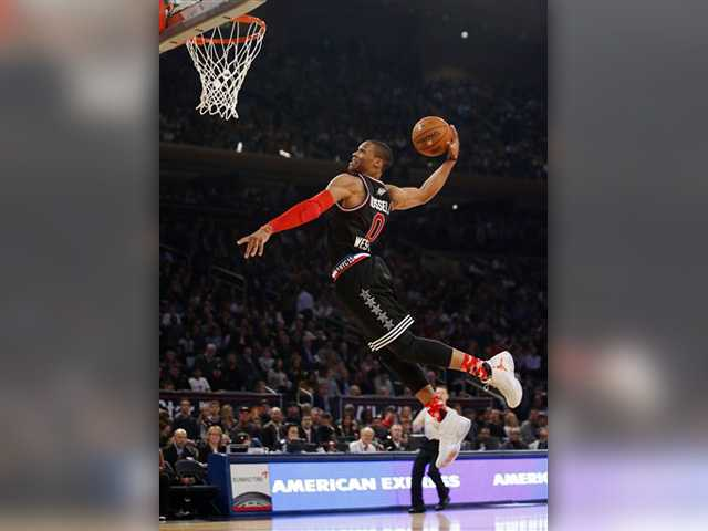 Westbrook has 41, West edges East in NBA All-Star Game