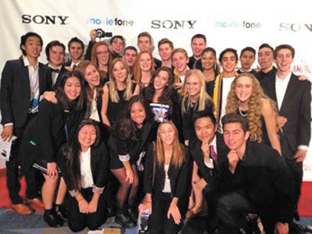 Valencia High School  film students win awards