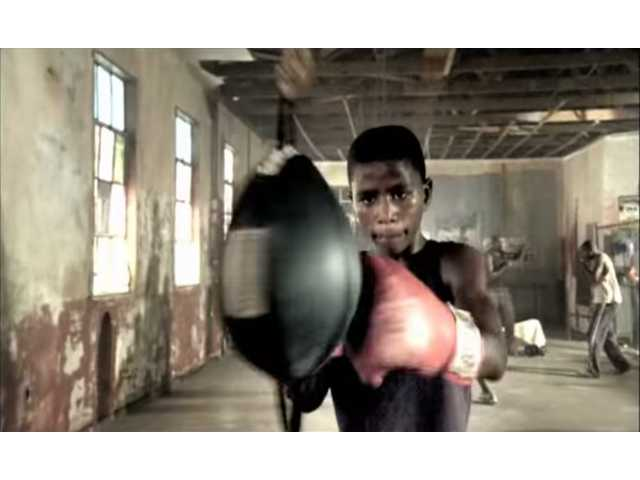 This boxing commercial delivers an unexpected punch