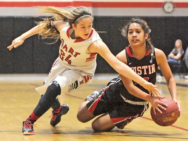 Hart girls past Tustin in CIF second round