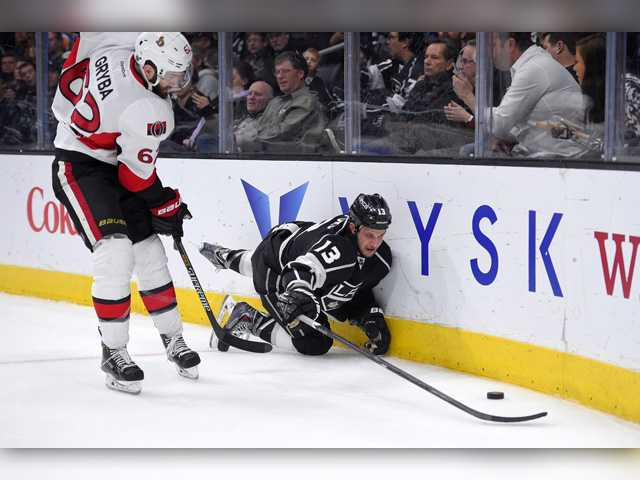 Senators shut out Kings in LA