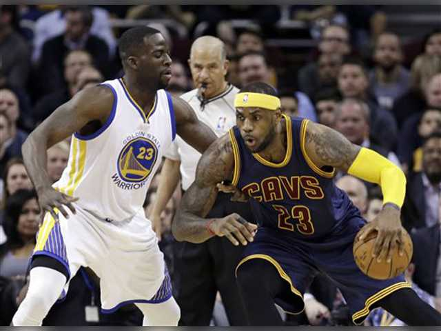 LeBron scores 42, Cavs beat Warriors for 18th win in last 20