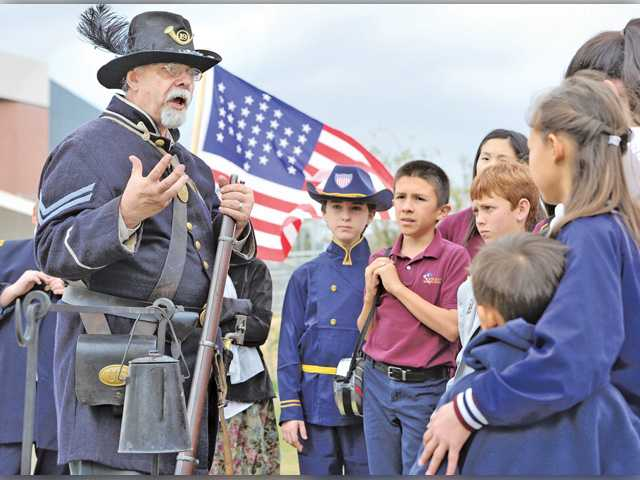 History in motion at Trinity Classical Academy