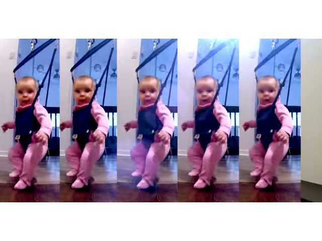 Have You Seen This? Baby is new 'Lord of the Dance'