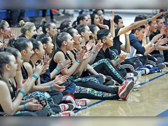 SCV dance teams compete in regional contest