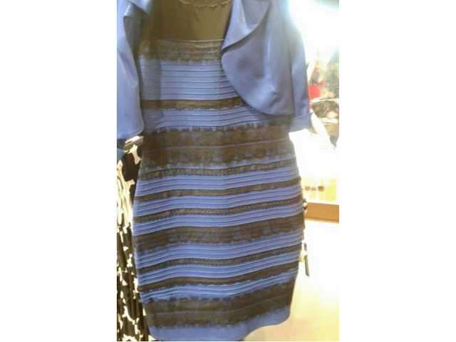 Right vs. wrong: why the black and blue dress debate shows a major disaster of our society
