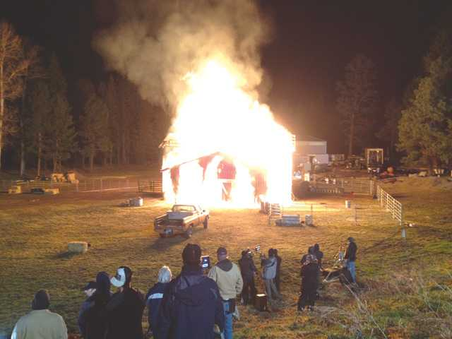 Mission: Keep a Barn Lit on Fire All Night without Burning Down