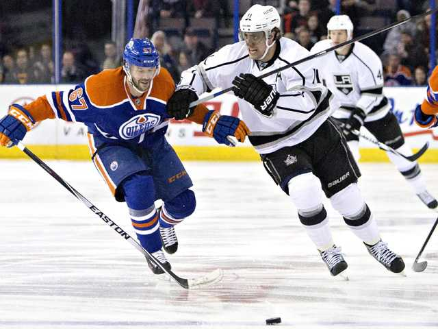 Kings get past Oilers to stop skid