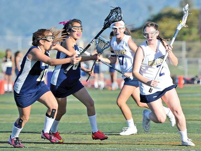 West Ranch rolls in SCV's 1st CIF girls lacrosse game