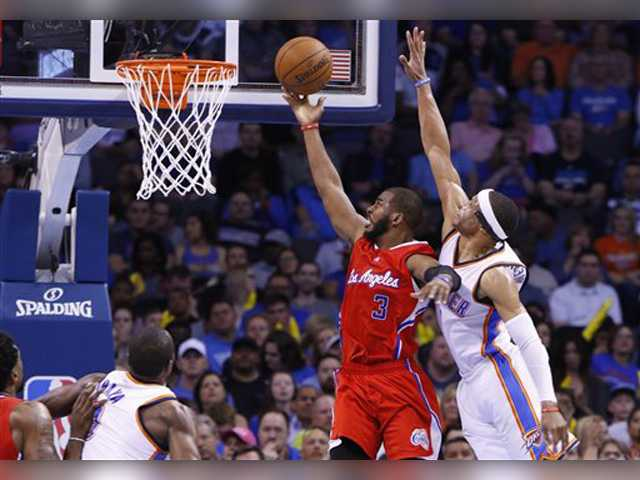 Paul has 33, outplays Westbrook as Clippers beat Thunder