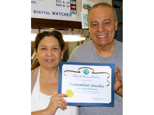 Two gems honored for long-running business
