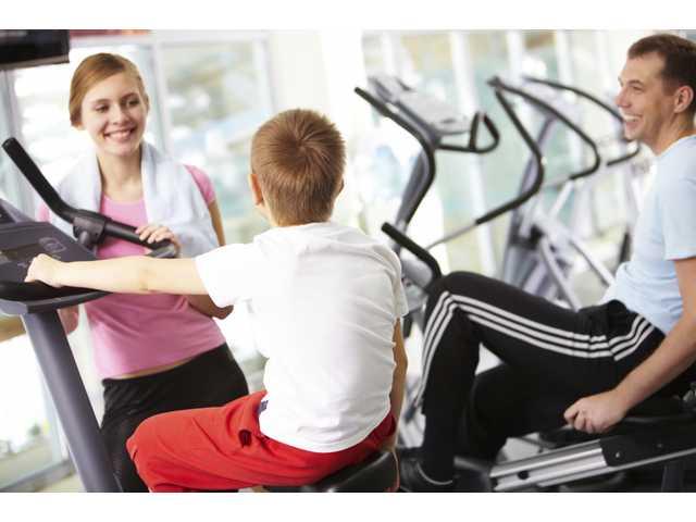 Strength training: It's a family affair