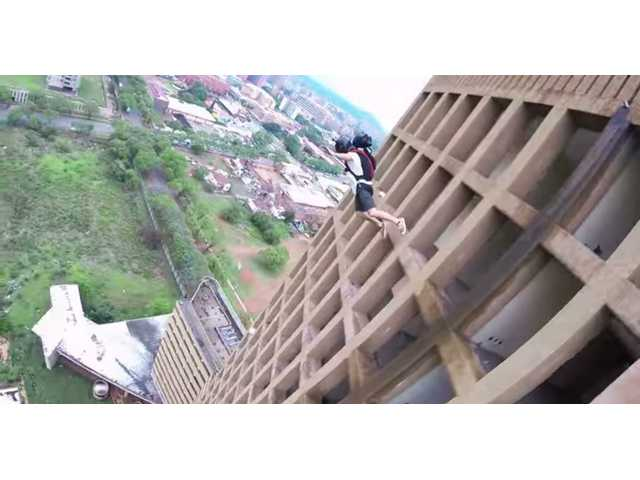 Have You Seen This? The great BASE jump race
