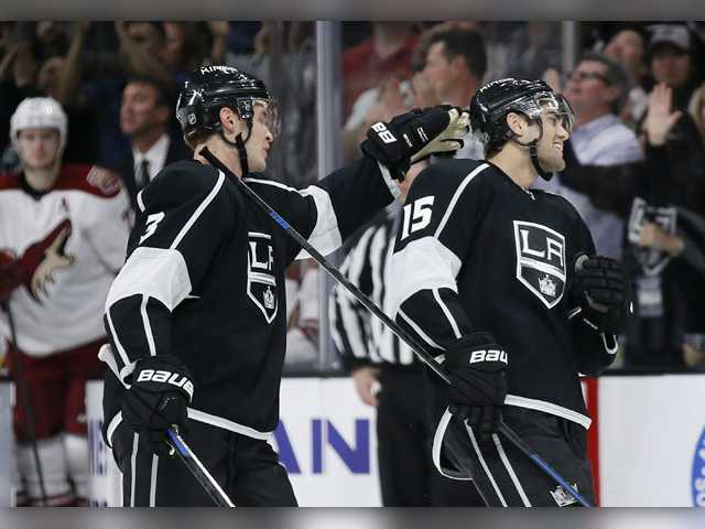 Kings back in playoff position with win over Coyotes