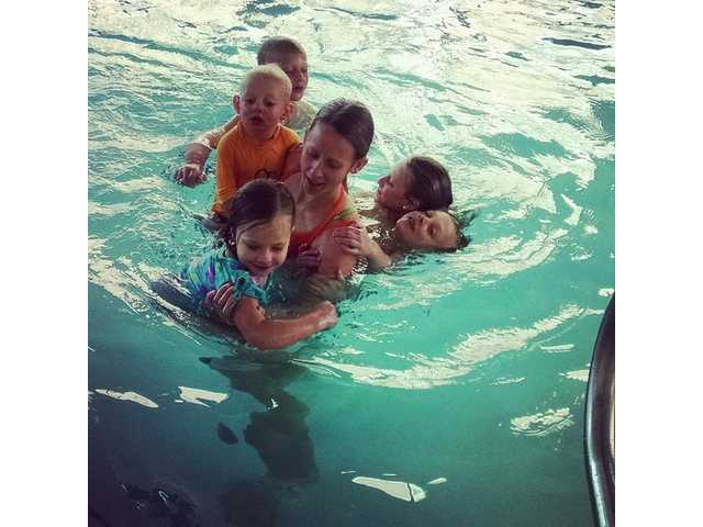 How I stepped away from being a 'poolside mom'