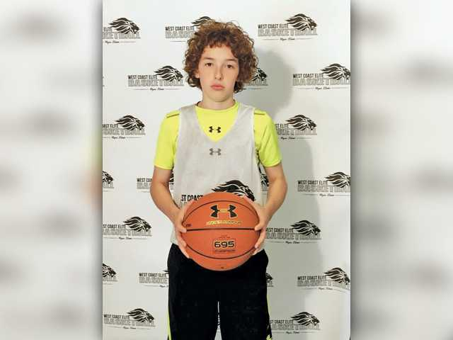 Local boy is  'shining prospect' in basketball