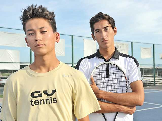 There is a clear favorite and a clear challenger in Foothill boys tennis