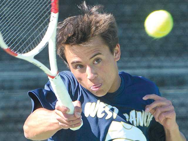West Ranch tennis edges Valencia in league opener