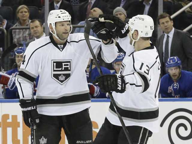 Quick, Kings top Rangers again in Cup rematch