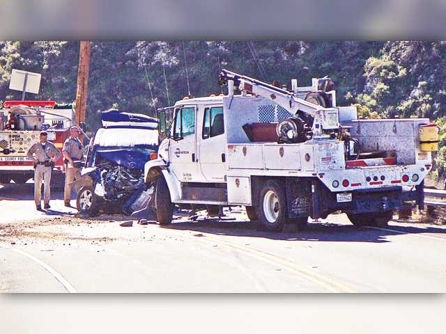 UPDATE: Two killed in Soledad Canyon Road head-on collision