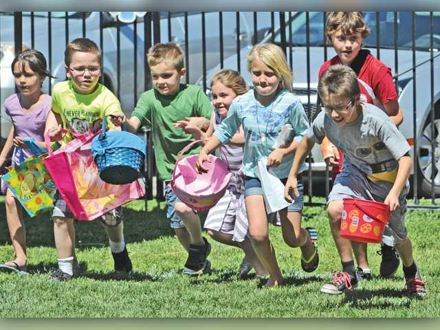 Egg hunting season opens in SCV as Easter nears