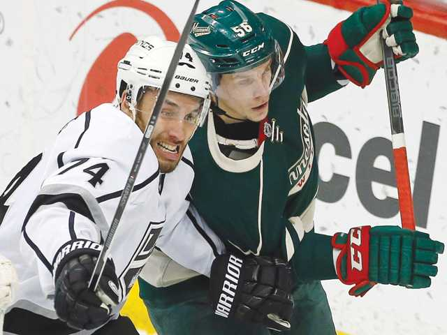 Kings' three-game losing streak snapped against Wild