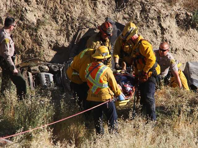 Car plunge 200 feet down ravine was 'real crash' during SCV filming