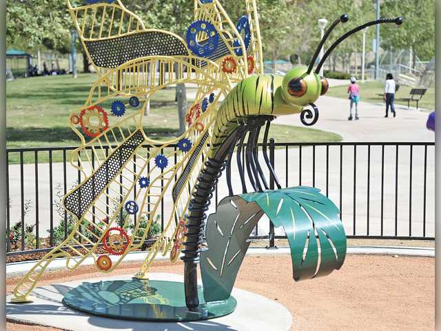 'Bouquet Bug' settles down in Central Park