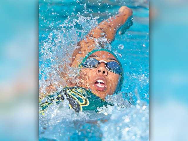 Canyon, G.V. find positives in swim meet