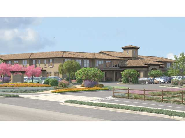Ground Breaks On a Luxury Senior Living Facility