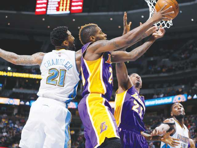 Lakers lose game, gain lottery standing
