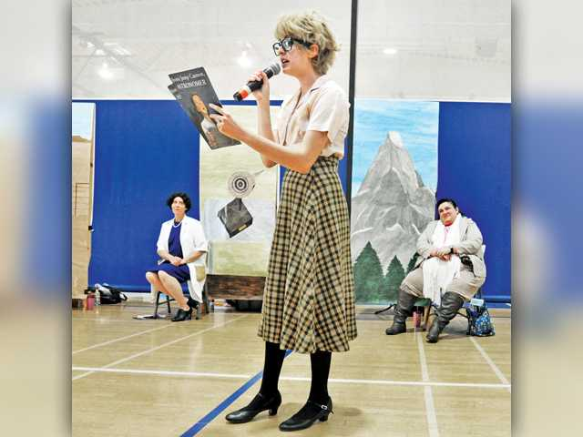 Students get lessons from history's women
