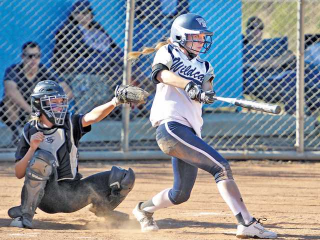 West Ranch softball swings game in its favor