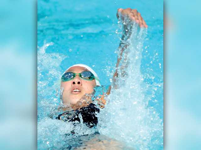 Valencia swim imposing its will on Foothill League