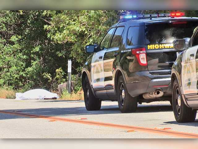 Two dead in crash on Bouquet Canyon Road