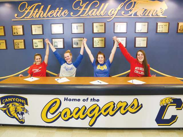 COC Insider: Four Cougars sign NCAA letters of intent