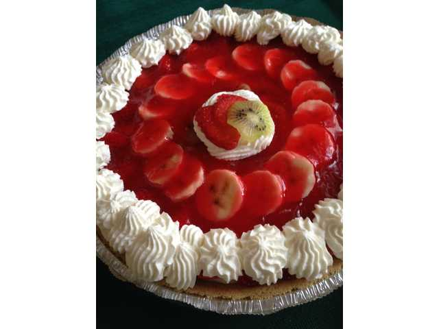 Kibananberry Pie is a luscious strawberry treat
